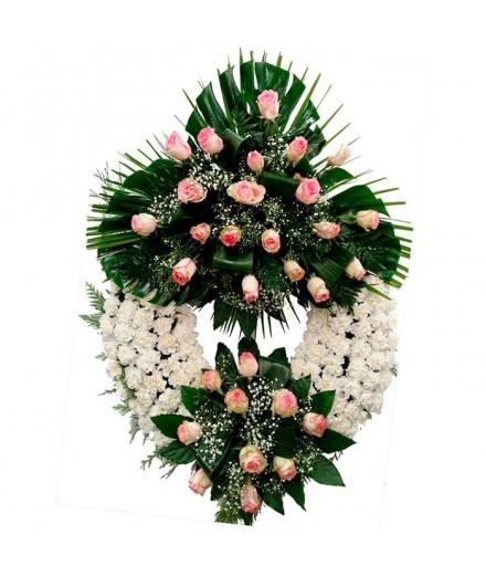 Corona funeraria Nº 3
