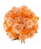 Ramo novia flor preservada Nº 11