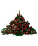 Centro de 45 rosas