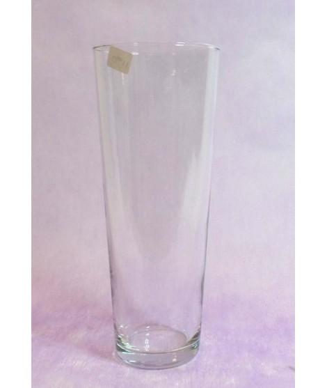 Florero de cristal 26 x 10