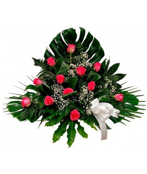 Centro Nº 3 - 12 rosas rosas