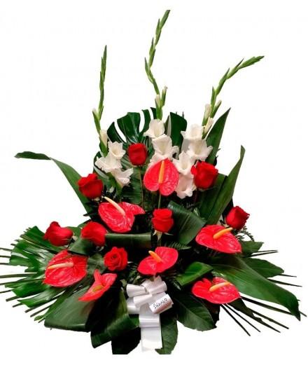 Centro 5 - Flor variada