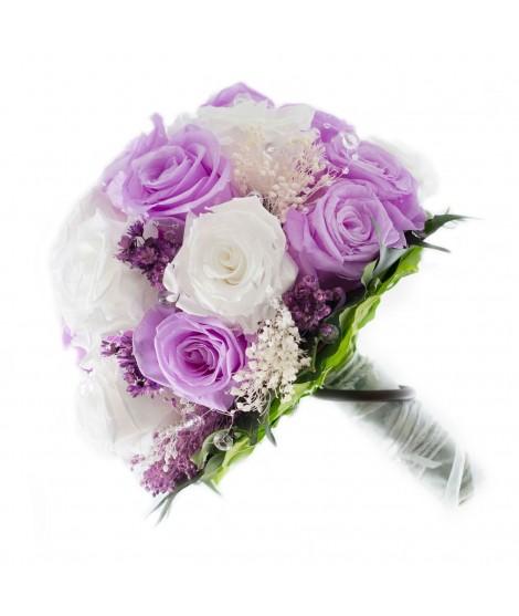 Ramo novia flor preservada Nº 2