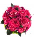 Ramo novia flor preservada Nº 10