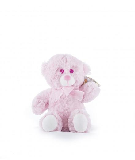Peluche rosa 20 cm