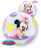 Globo Bubble Disney Baby Minnie