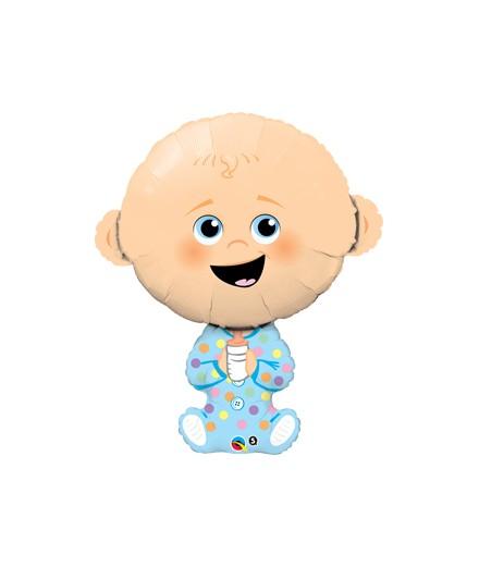 Globo Foil Baby Boy Blue Gigante