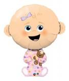 Globo Foil Baby Girl Pink Gigante