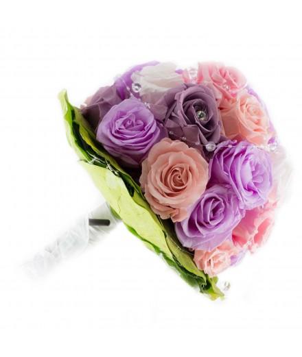 Ramo novia flor preservada Nº 1
