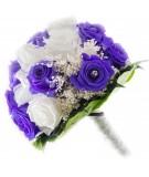 Ramo novia flor preservada Nº 9