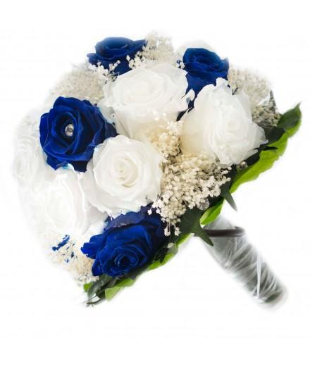 Ramo novia flor preservada Nº 4