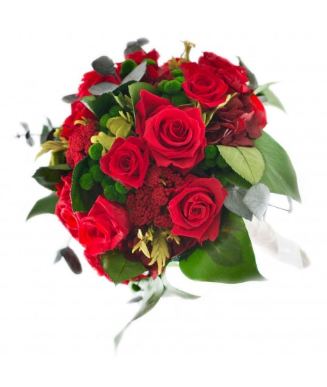 Ramo novia flor preservada Nº 5